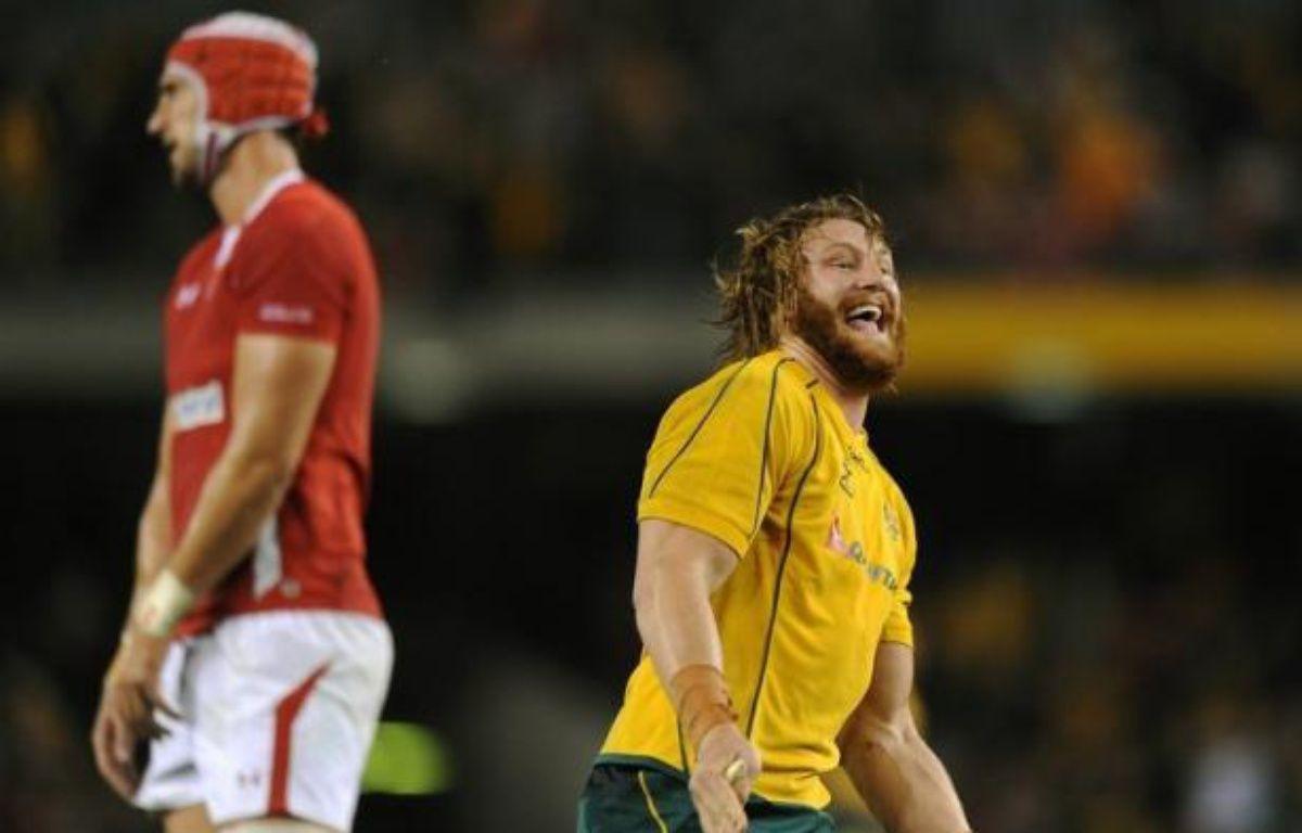 L'Australie et la Nouvelle-Zélande ont été bousculées respectivement par le pays de Galles et l'Irlande jusque dans les derniers instants de leurs test-matches samedi, l'Afrique du Sud s'imposant avec moins de difficultés face à l'Angleterre. – Greg Wood afp.com