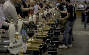 Le festival de la bière à Londres, en août 2010.