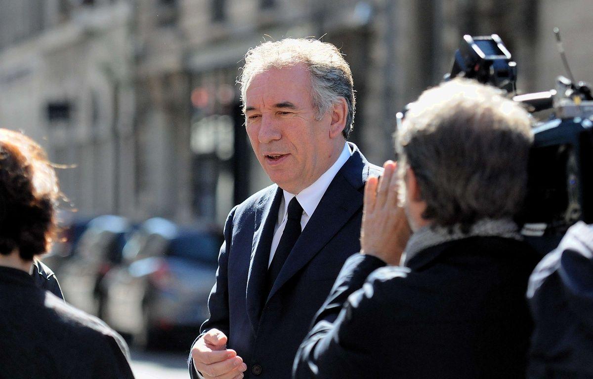 François Bayrou, président du Mouvement démocrate, le 7 mai 2017 à Pau à l'occasion du second tour de la présidentielle – FERNAND FOURCADE/SIPA