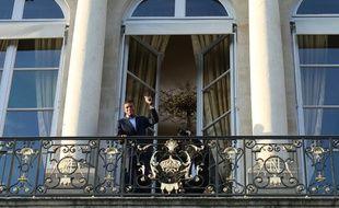 Kylian Mbappé à l'Elysée lundi.
