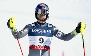 Alexis Pinturault a été très décevant lors du combiné des championnats du monde, le 13 février 2017 à Saint-Moritz.