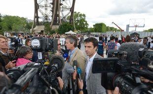 Tony Estanguet, le président de Paris-2024, lors de la visite de la commission de coordination du CIO à Paris, le 18 juin 2018.
