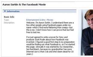 Aaron Sorkin, le scénariste de «A la Maison Blanche», prépare un film sur Facebook.