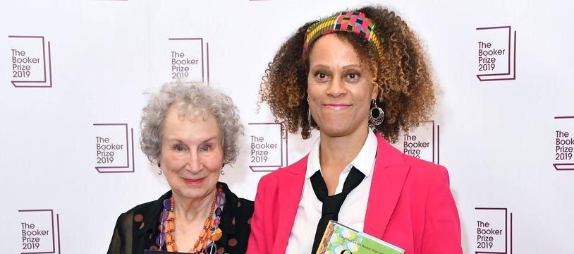 Margaret Atwood et Bernardine Evaristo, lauréate du Booker Prize 2019.