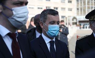 Le ministre de l'Intérieur Gérald Darmanin est au tribunal judiciaire de Paris pour être confronté à Sophie Patterson-Spatz, la femme qui l'accuse de viol. (Illustration)
