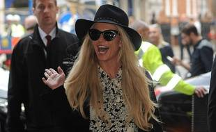 Britney Spears le 28 septembre 2016 à Londres