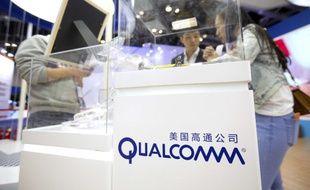 Logo du fournisseur informatique américain Qualcomm