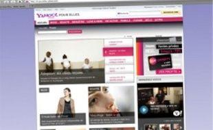 Le groupe Internet Yahoo! lance en France une déclinaison dédiée aux femmes.