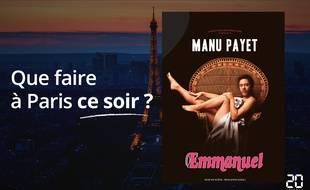Manu Payet joue jusqu'au 31 décembre au théâtre de l'Œuvre.