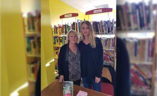 Dominique Blondiaux et sa fille Stéphanie au lancement du livre.