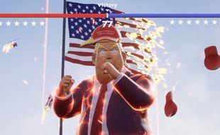 «Unpresidential!», un jeu mobile gratuit et parodie de combat pour refaire le match Trump vs Biden