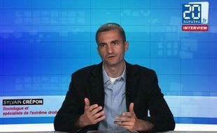 Sylvain Crépon, chercheur à l'université Paris-Ouest-Nanterre, spécialiste de l'extrême droite et du Front national.