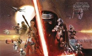 Affiche de «Star Wars - Le réveil de la Force»