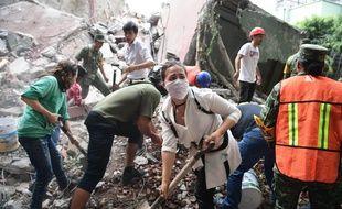 Le bilan provisoire du séisme au Mexique fait état de 233 morts, le 20 septembre 2017.