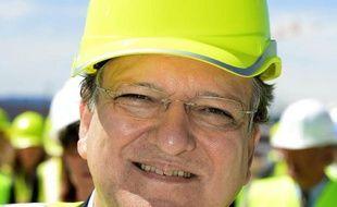 Le président de la Commission européenne, José Manuel Barroso, le 11 juillet 2014 à Saint-Paul-lès-Durance