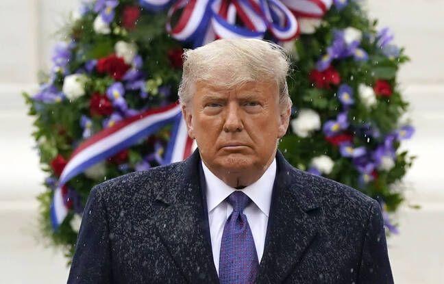 648x415 donald trump lors ceremonie 11 novembre 2020 maison blanche