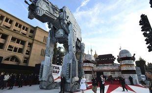 L'avant-première de «Star Wars - Les derniers Jedi» a eu lieu le 9 décembre au Shrine Auditorium de Los Angeles