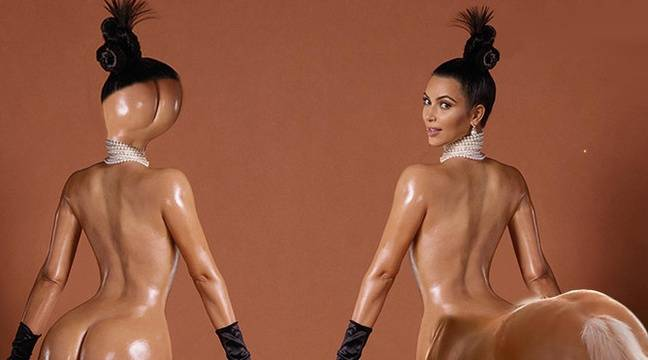 Les 10 meilleurs détournements des fesses de Kim Kardashian