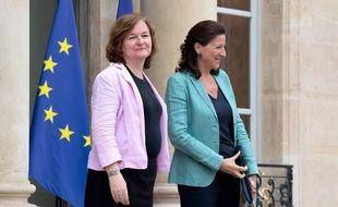 Les ministres Nathalie Loiseau et Agnès Buzyn, le 6 juin 2018 à l'Elysée.