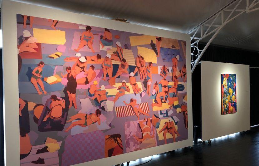 VIDEO. Street art à Bordeaux : Avec Matth Velvet, une nouvelle pépite fait le mur à l'institut Bernard-Magrez