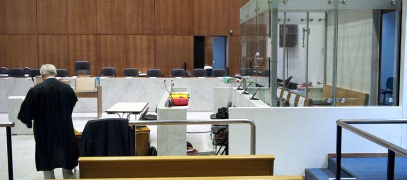Un tribunal. (Illustration)