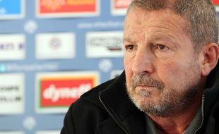 Rolland Courbis, le nouvel entraîneur de Montpellier, en 2013