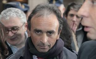 Eric Zemmour au Tribunal correctionnel de Paris le 11 janvier 2011.
