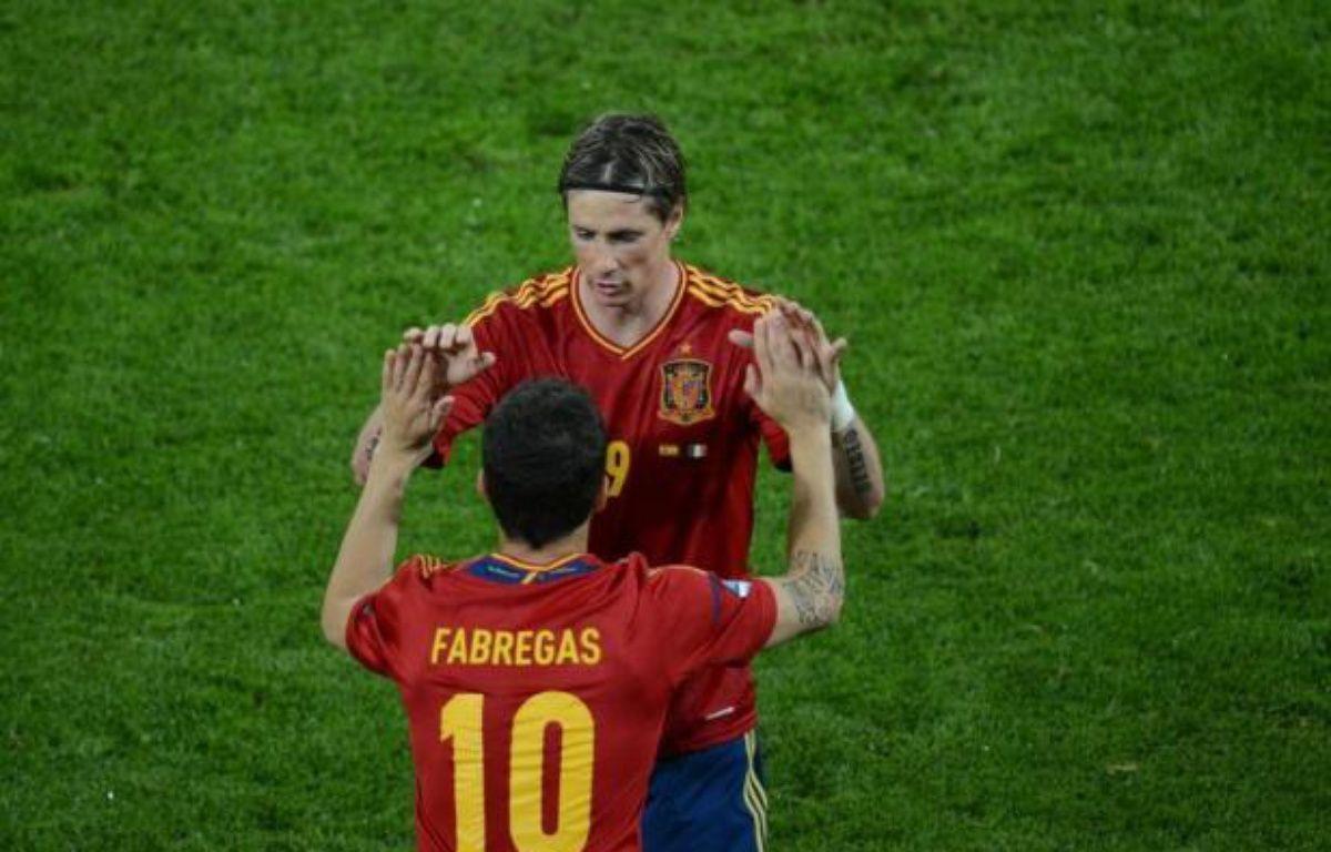 Les demi-finales de l'Euro-2012 qui mettront aux prises le Portugal et l'Espagne mercredi, puis l'Allemagne et l'Italie jeudi réuniront quelques-uns des meilleurs attaquants du monde, sur lesquels leurs coéquipiers comptent pour faire basculer les rencontres. – Patrik Stollarz afp.com