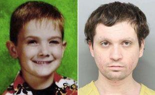 Brian Rini, 23 ans (droite) a été inculpé pour s'être fait passer pour Timmothy Pitzen qui a disparu en 2011 à l'âge de 6 ans.
