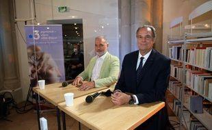 Jean-Marc Governatori aux côtés du candidat LR sortant Renaud Muselier
