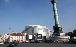 Illustration: l'opéra Bastille à Paris.