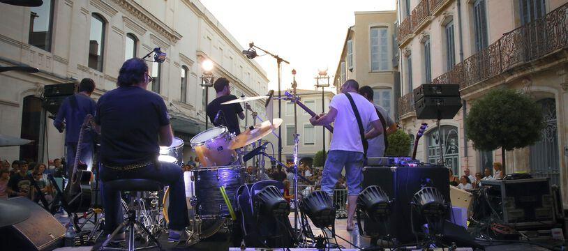 Une fête de la musique de la vie d'avant (à Nîmes en 2016).