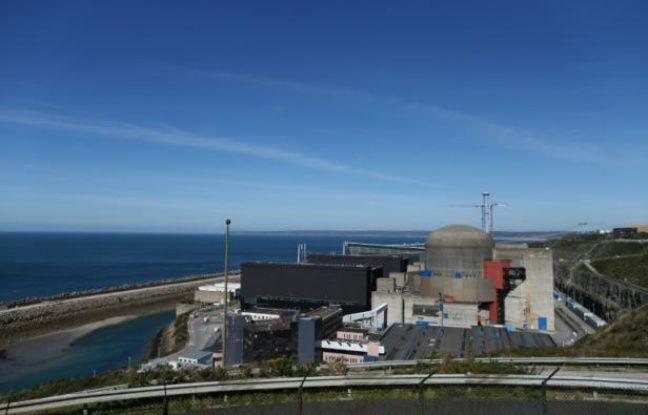 La centrale nucléaire de Flamanville, le 28 septembre 2015, où une anomalie a été repérée sur une cuve du réacteur en construction