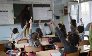 Une classe de CP dédoublée à Dreux (image d'illustration).