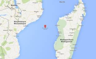 Canal du Mozambique, où a été retrouvé le débris d'un avion pouvant appartenir à un Boeing 777