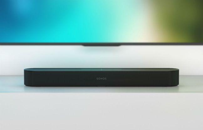 La barre de son Sonos Beam, lancée à 449 euros.