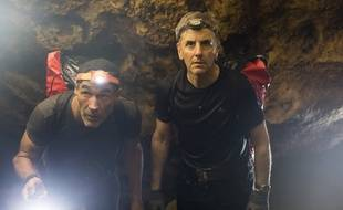 Mike Horn et Bernard de la Villardière dans «Cap Horn».