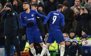 Olivier Giroud va clairement devoir se contenter d'un statut de remplaçant avec Chelsea en raison de la venue de Gonzalo Higuain durant ce mercato hivernal. Glyn Kirk