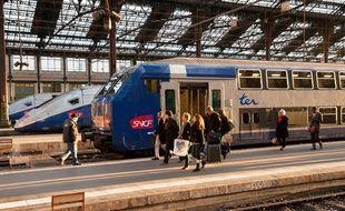 Photo d'illustration. La gare de Lyon le 12 décembre 2011.