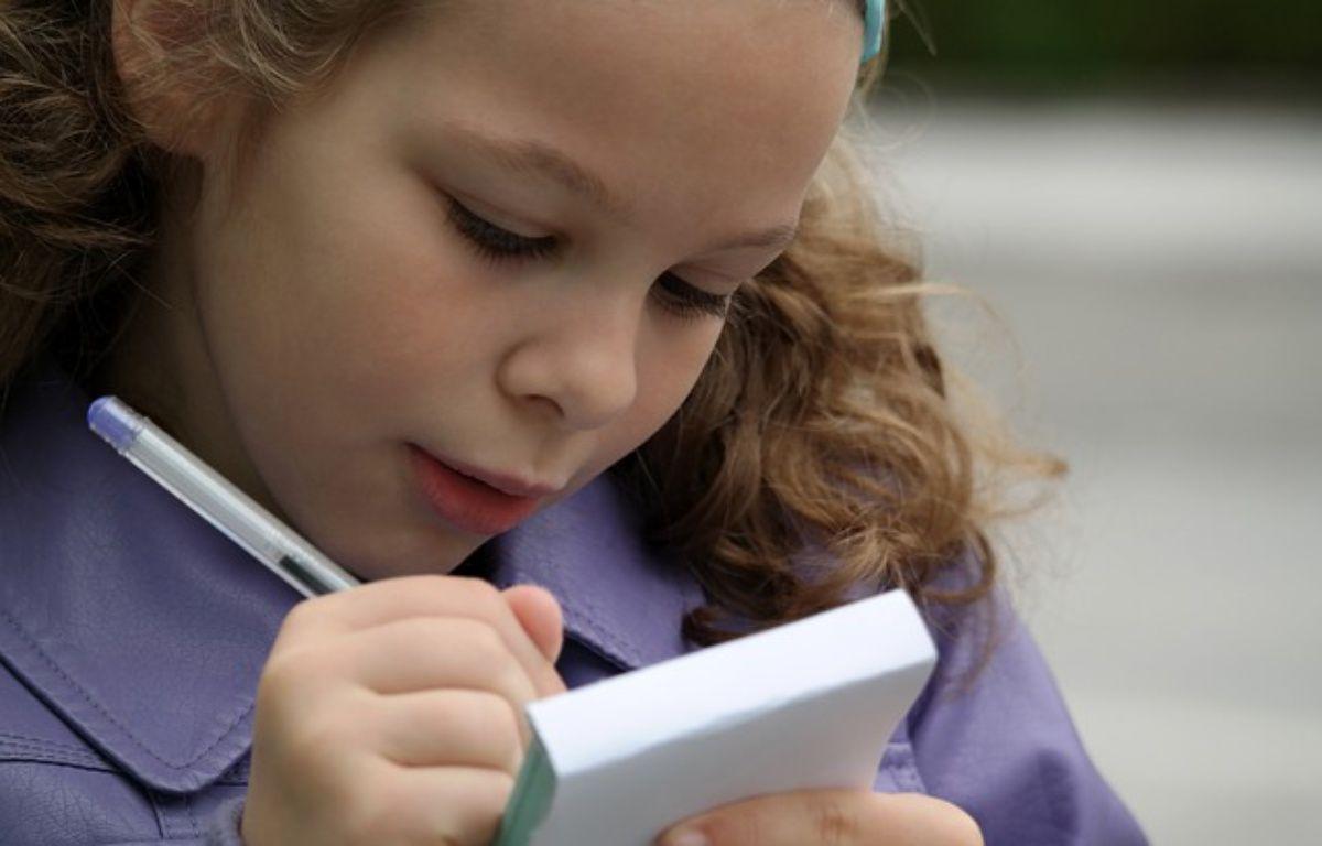 Une petite fille qui fait ses devoirs; – Pixabay/RaphaelJeanneret