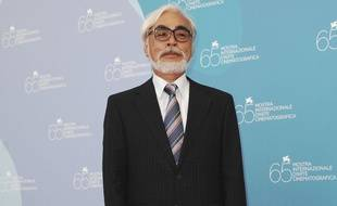 Le dessinateur et cinéaste Hayao Miyazaki