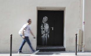 L'oeuvre attribuée à Banksy a été volée dans la nuit du 25 au 26 janvier 2019.