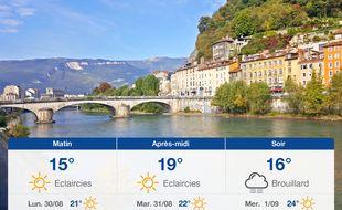 Météo Grenoble: Prévisions du dimanche 29 août 2021