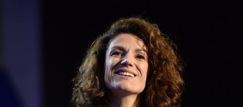 Chantal Jouanno, la présidente de la Commission nationale du débat public (CNDP) à Issy-les-Moulineaux, le 9 décembre 2015.