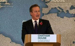 UE: Cameron officialise ses 4 objectifs de renégociation