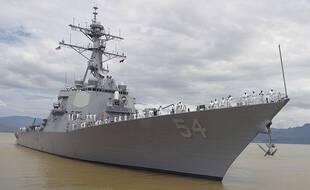 Un destroyer américain (Illustration)