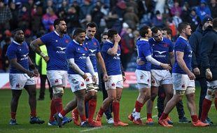 Battu en Ecosse, le XV de France a dit adieux aux rêves de grand chelem.
