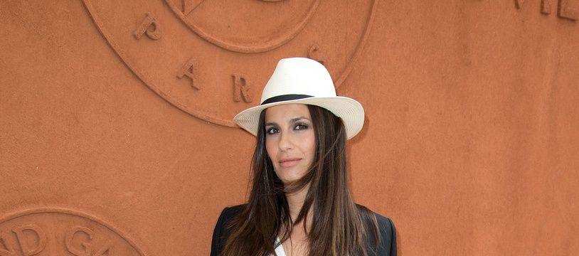 Elisa Tovati en 2015 à Roland-Garros.