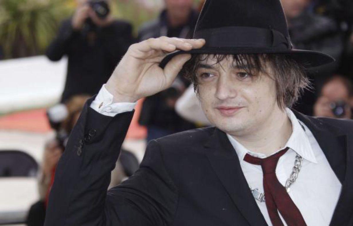 Pete Doherty à Cannes le20 mai 2012. – Joel Ryan/AP/SIPA