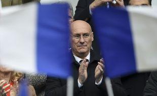 Le président de la Fédération française de rugby, Bernard Laporte.
